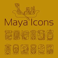 Maya icons