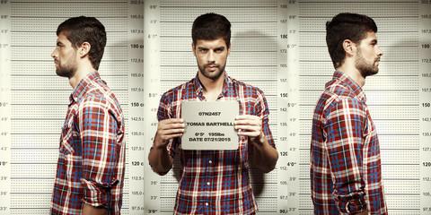 Serial killer mug shot