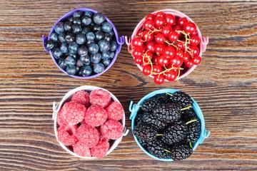 Mixture of summer berries