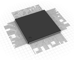 Processor unit CPU concept