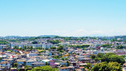 横浜 郊外の町
