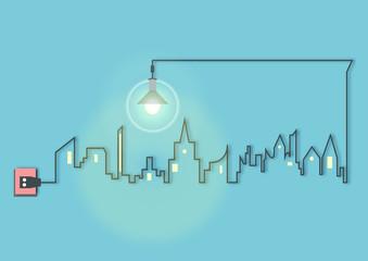 energieverbrauch im urbanen raum - energiewende - smart grid