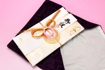 祝儀袋と袱紗