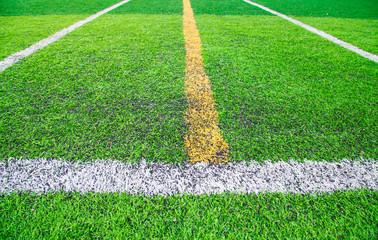 Artificial soccer field