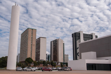 Buildings of South Banking Sector of Brasilia
