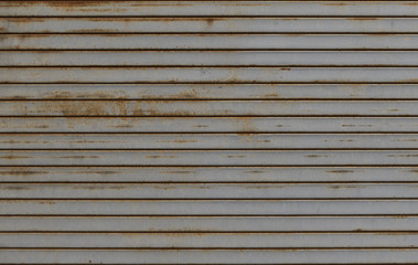 metal garage door texture background
