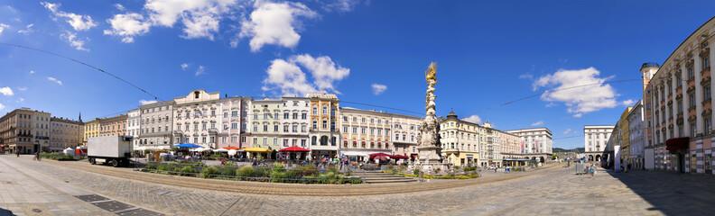 Panorama main square Linz