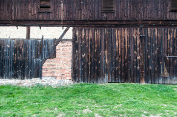 High resolution wooden wall