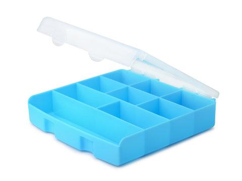 Plastic compartment box