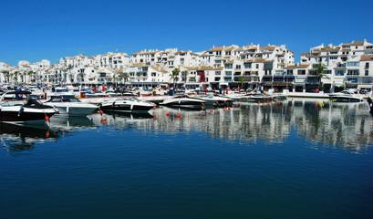 Puerto Banús, Marbella, Málaga, costa, paisaje