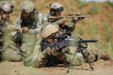 rangers during the military operation