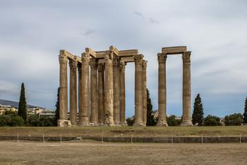 The Temple of Olympian Zeus (Columns of Olympian Zeus)