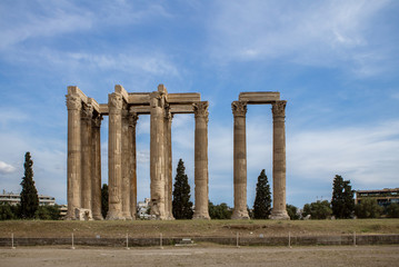 The Temple of Olympian Zeus (Columns of Olympian Zeus)