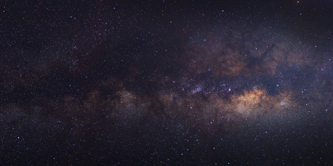 The Panorama Milky Way galaxy, Long exposure photograph