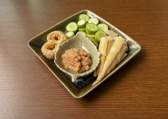 Thai appetizer, Crispy Pork Dipping paste