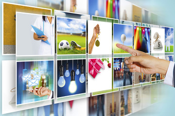 Digital photo gallery