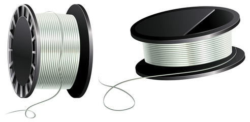 Fishing line or cotton