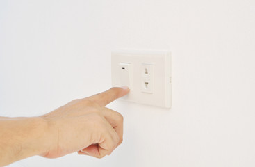 Hand touch switch
