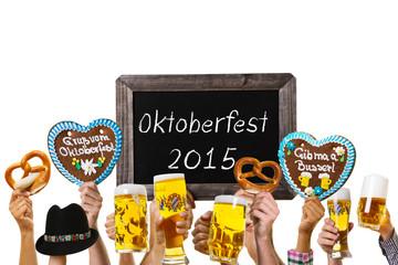 Oktoberfest 2015 Freisteller