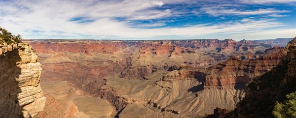 Printed kitchen splashbacks Brown Grand canyon nation park, Arizona, USA. Panoramic image.