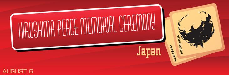 Hiroshima Peace Memorial Ceremony