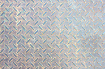 steel Patterned background Old metal plate