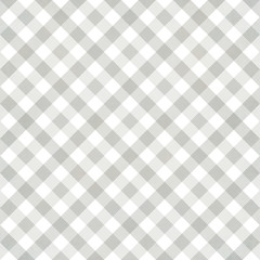 White - grey  texture, gingham cloth background