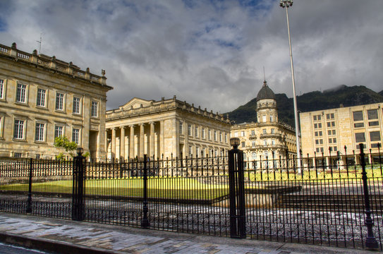 Presidential palace in Bogota, capital of Colombia