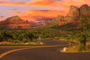 Acrylic Prints Arizona Sedona Arizona Sunrise