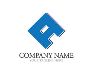 Square A Letter Logo
