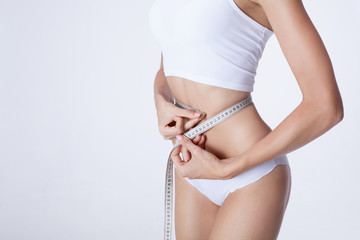 Body measuring.