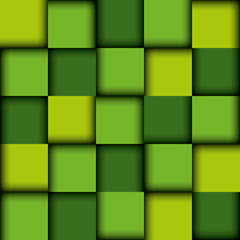 Green background design.
