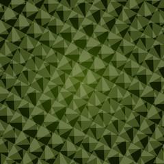 Green background design.