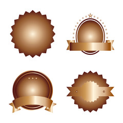 Bronze Badge Set
