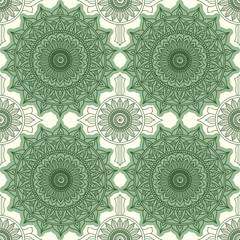 Wall Mural - Modern geometric seamless pattern