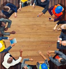 Architecture Design Team Meeting Discussion Planning Concept