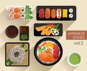 Food Illustration : Japanese Food