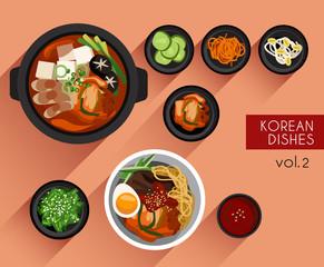 Food Illustration : Korean Food