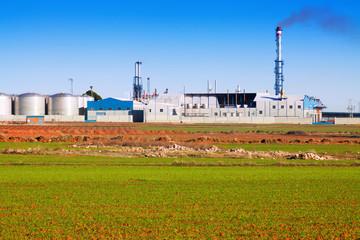 industry plant   near field