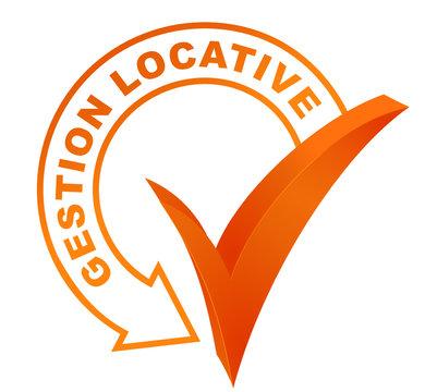 gestion locative sur symbole validé orange