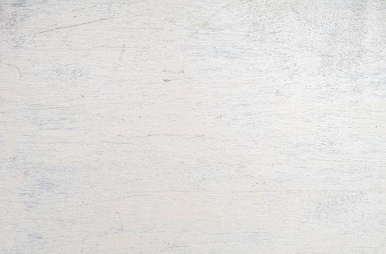 Wooden planks painted white texture background