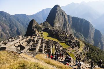 MACHU PICCHU, PERU, AUGUST 12: Machu Picchu, was designed Peruvi