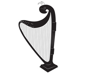 black harp concept