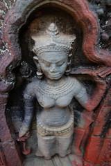 Single Devata at Preah Khan Temple, Siem Reap