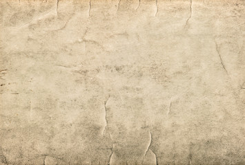 Vintage cardboard. Used stained paper texture Wall mural