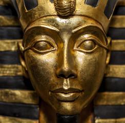 Replica of Tutankhamen Golden Death Mask.