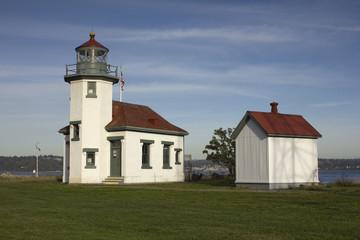 Point Robinson Lighthouse, Vashon Island, Washington