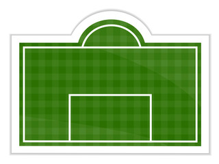 Football Field Sticker