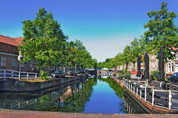 Kanal in Hoorn