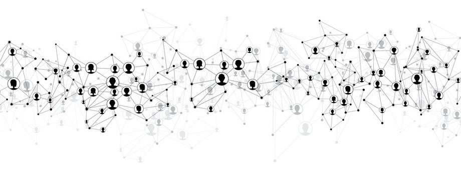 Communication social mesh.